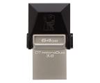 Kingston 64GB DataTraveler microDuo (USB 3.0) OTG  (DTDUO3/64GB)