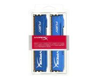 HyperX 8GB 1600MHz Fury Blue CL10 (2x4GB) - 180500 - zdjęcie 2
