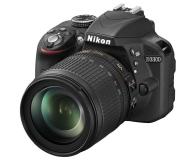 Nikon D3300 czarny +AF-S VR DX 18-105  - 180686 - zdjęcie 1