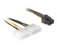 Gembird Przejściówka 2x Molex - PCIe (zasilanie grafiki) - 64469 - zdjęcie 1