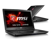 MSI GL62 i5-6300HQ/4GB/1TB 940MX 2GB FHD - 317476 - zdjęcie 1