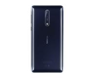 Nokia 8 Dual SIM błyszczący niebieski  - 386998 - zdjęcie 3