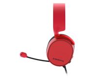 SteelSeries Arctis 3 Czerwone - 385684 - zdjęcie 3