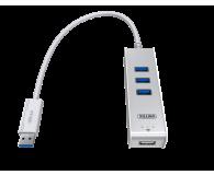 Unitek HUB 3 x USB 3.0 + KVM ( 2 komputery na raz) - 387021 - zdjęcie 2