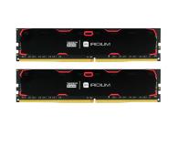 GOODRAM 8GB 2400MHz IRIDIUM Black CL17 (2x4GB) - 402941 - zdjęcie 1