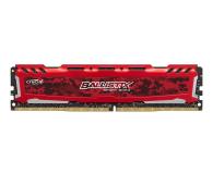 Crucial 4GB 2400MHz Ballistix Sport LT Red CL16 - 388690 - zdjęcie 1