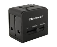 Qoltec Uniwersalny adapter podróżny 10,5 W 5V 2.1A - 385350 - zdjęcie 1