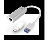 Unitek Adapter USB, USB-C - RJ-45 (Gigabit) - 385727 - zdjęcie 1