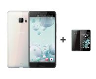HTC U Ultra LTE biały+ U Play 32GB czarny - 385577 - zdjęcie 1