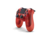 Sony Kontroler PS 4 DualShock 4 Translucent Red V2 - 386450 - zdjęcie 3