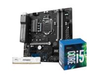 MSI B250M BAZOOKA OPT + i5-7400 + Crucial 8GB 2400MHz - 390818 - zdjęcie 1