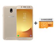 Samsung Galaxy J7 2017 J730F Dual SIM LTE złoty + 32GB - 392924 - zdjęcie 1