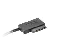 Gembird Adapter USB(M)+Power -> SATA Slim SSD (na kablu) - 392917 - zdjęcie 3