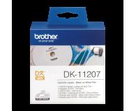 Brother Etykieta na CD/DVD 100 szt. (DK11207) - 393650 - zdjęcie 2