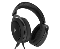 Corsair HS50 Stereo Gaming Headset (czarne) - 393727 - zdjęcie 4
