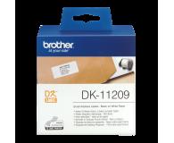 Brother Etykieta mała adresowa 800 szt. (DK11209) - 393658 - zdjęcie 2
