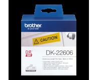 Brother Taśma ciągła papierowa żółta 62mm (DK22606) - 393719 - zdjęcie 2