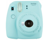 Fujifilm Instax Mini 9 niebieski + wkład 10pk + pokrowiec - 393611 - zdjęcie 2