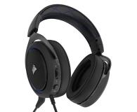 Corsair HS50 Stereo Gaming Headset (niebieskie)  - 395038 - zdjęcie 4