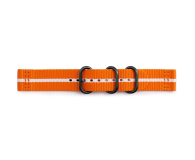 Samsung Premium Nato Strap do Gear Sport Orange-White - 395292 - zdjęcie 1