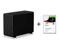 Synology DS218play 2TB (2xHDD, 4x1.4GHz, 1GB, 2xUSB, 1xLAN) - 395626 - zdjęcie 1