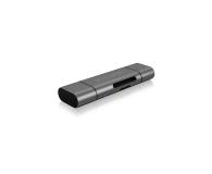 ICY BOX Czytnik kart microSD USB (microUSB) - USB-C - 395674 - zdjęcie 1