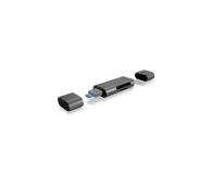 ICY BOX Czytnik kart microSD USB (microUSB) - USB-C - 395674 - zdjęcie 3