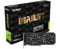 Palit GeForce GTX 1070 Dual Fan 8GB GDDR5 - 374693 - zdjęcie 1