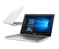Dell Inspiron 5567 i5-7200U/8GB/256/Win10 R7 FHD biały  - 379488 - zdjęcie 1