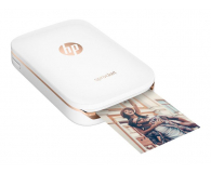 HP Sprocket Mobile Photo Printer biała - 391104 - zdjęcie 2