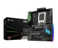 MSI X399 SLI PLUS (PCI-E DDR4 USB 3.1 / M.2) - 391006 - zdjęcie 1