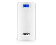 ADATA Power Bank P20000D 20000 mAh 2.1A (biały) - 397542 - zdjęcie 2