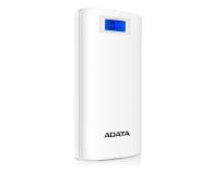 ADATA Power Bank P20000D 20000 mAh 2.1A (biały) - 397542 - zdjęcie 1