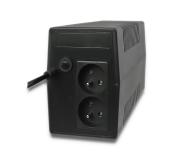 Qoltec Monolith (650VA/360W, 2x FR) - 397374 - zdjęcie 2