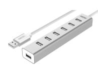 Unitek Aluminiowy Hub 7x USB 2.0 + zasilacz - 399628 - zdjęcie 1