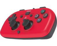 Hori PS4 HORIPAD Mini Czerwony - 396364 - zdjęcie 1