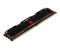 GOODRAM 16GB 3000MHz IRDM X Black CL16 (2x8GB) - 395469 - zdjęcie 2