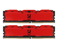 GOODRAM 16GB (2x8GB) 3000MHz CL16 IRDM X Red