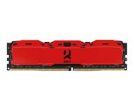 GOODRAM 8GB 3000MHz IRDM X Red CL16 - 395473 - zdjęcie 1