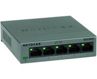 Netgear 5p GS305-100PES (5x10/100/1000Mbit) - 365076 - zdjęcie 2