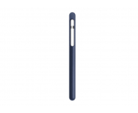 Apple Skórzane Etui Pencil Case Midnight Blue - 369448 - zdjęcie 2