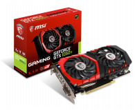 Karta graficzna NVIDIA MSI GeForce GTX 1050 Ti GAMING 4GB GDDR5