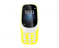 Nokia 3310 Dual SIM żółty - 362997 - zdjęcie 2