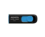 ADATA 64GB DashDrive UV128 czarno-niebieski (USB 3.1) - 370865 - zdjęcie 1