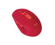 Logitech M590 Multi Device Silent rubinowy - 372044 - zdjęcie 2