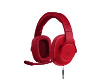 Logitech G433 Czerwone - 368360 - zdjęcie 1