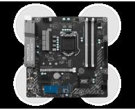 MSI B250M BAZOOKA OPT + i5-7400 + Crucial 8GB 2400MHz - 390818 - zdjęcie 4