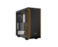 be quiet! Pure Base 600 czarno-pomarańczowa z oknem - 351875 - zdjęcie 1