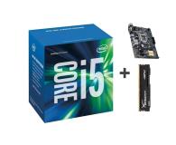 Intel i5-6400 + ASUS H110M-K + Kingston 8GB 2133MHz   - 309174 - zdjęcie 1