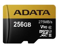 ADATA 256GB microSDXC zapis 155MB/s odczyt 275MB/s  - 374917 - zdjęcie 1